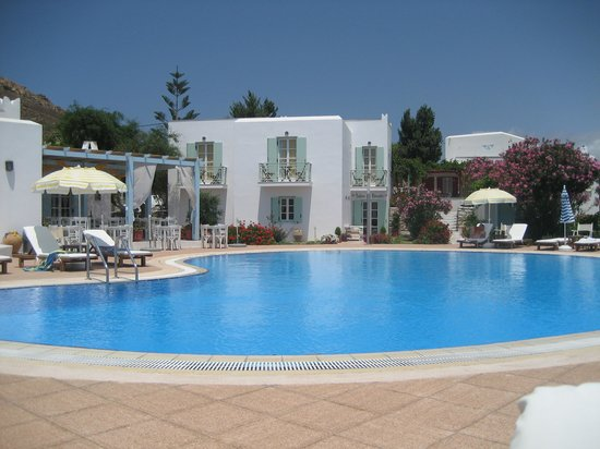 Lianos Village Hotel: By the pool
