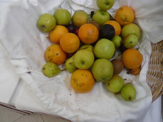 Club Cala Romani: Les fruits...frais... du soit disant snack