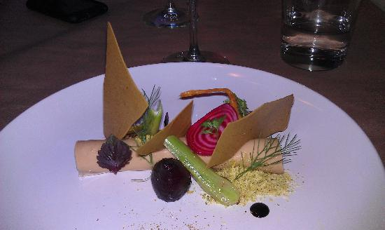 Pumpkin: Foie Gras Appetizer