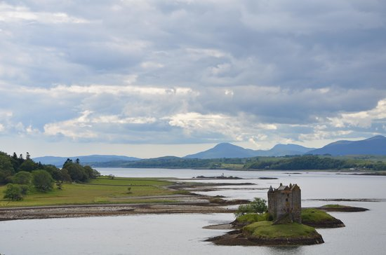 About Scotland : Castle Stalker