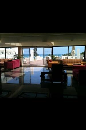 Odessa Beach Hotel: hotel lobby