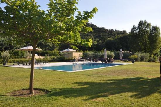 garten mit pool - picture of mas de lure, salon-de-provence, Best garten ideen