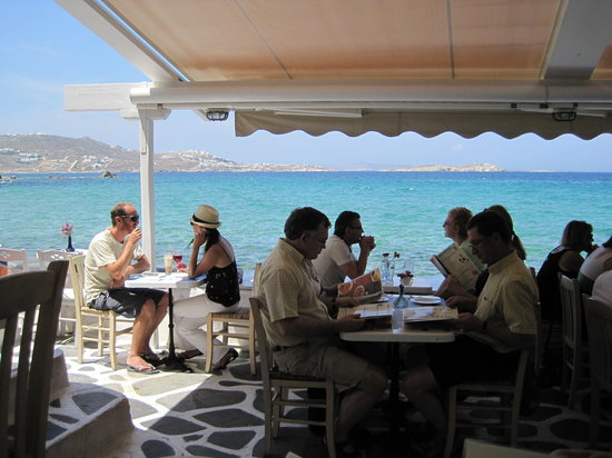Sunset taverna mykonos ville restaurant avis num ro de t l phone photos tripadvisor - Mykonos lieux d interet ...