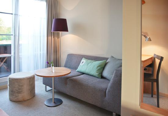 Romantischer Seegasthof & Hotel Altes Zollhaus: Zimmer Seeseite