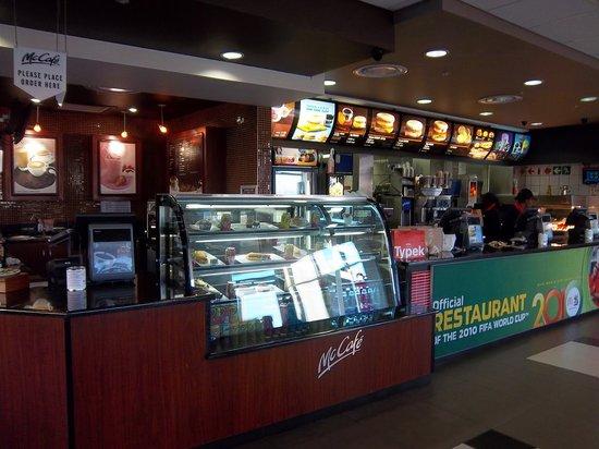 McDonald's: Inside McDonalds and McCafe