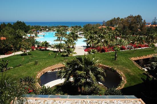Acacia Resort Parco dei Leoni: panoramica dal 3.piano