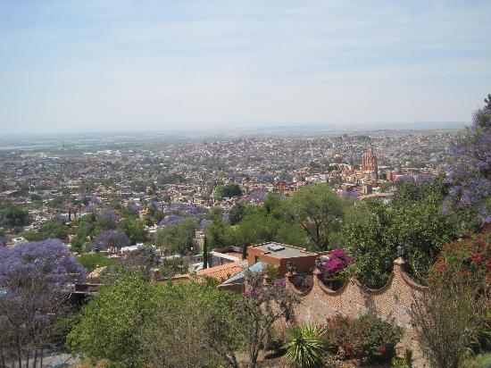 San Miguel de Allende, Mexico: Vista desde el Mirador