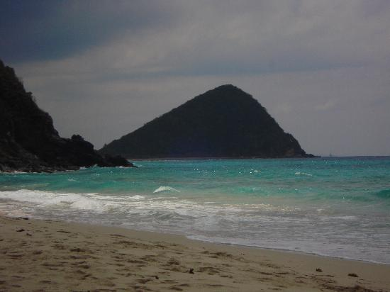 Tortola From The Beach At Sebastian S On Hotel
