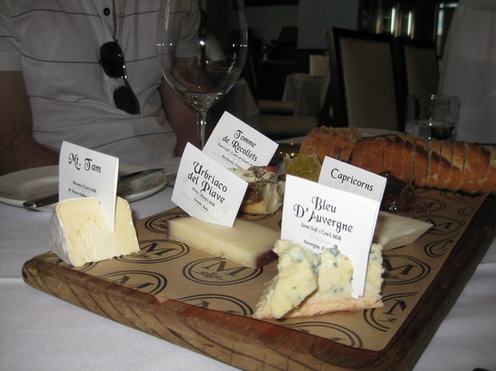 Morels French Steakhouse & Bistro: Cheese Board