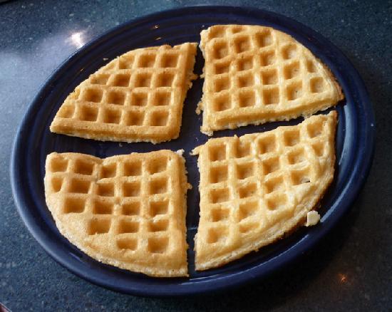 Hot Suppa: Plain waffle