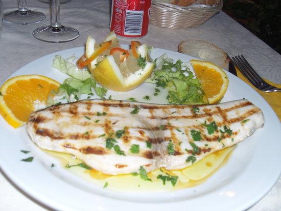 Ristorante Villa Pozzo Greco : Pesce spada ~ Swordfish
