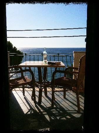 Hotel La Conchiglia : View from room 158