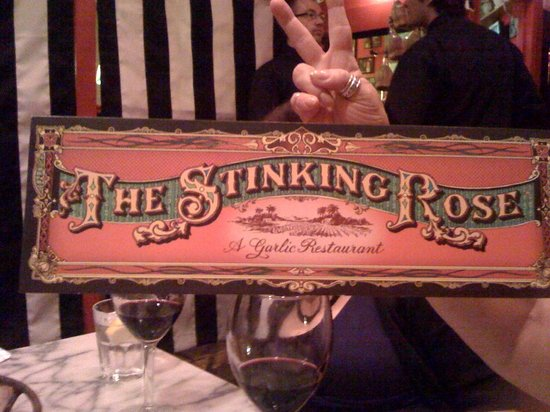 The Stinking Rose : What a great place