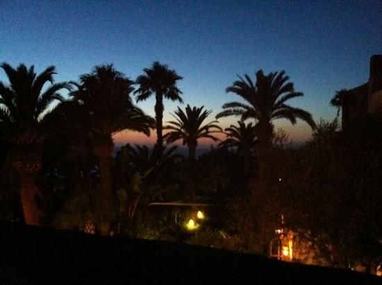 Monte Epomeo: tramonto
