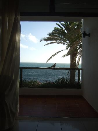 Dunas Don Gregory: Blick vom Bett auf das nahe Meer