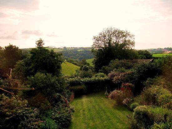 Sannacott: View from double bedroom