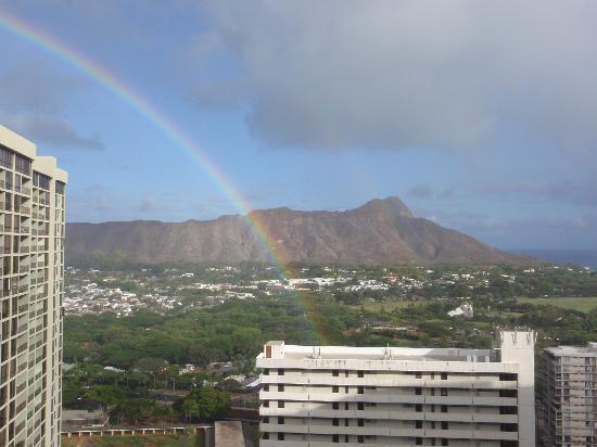 Waikiki Banyan: レインボーはほぼ毎日