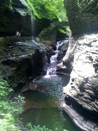 Watkins Glen, Estado de Nueva York: Waterfalls everywhere