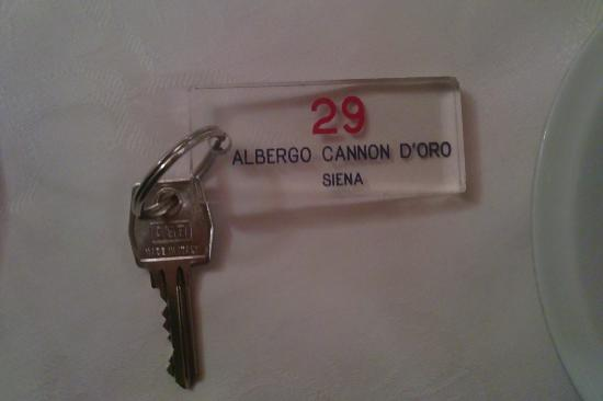 Albergo Cannon d'Oro: keys