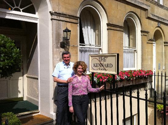 The Kennard: Mary and Giovanni--our trip would not have been complete without getting this last picture.