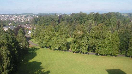Dunblane, UK: View from our room