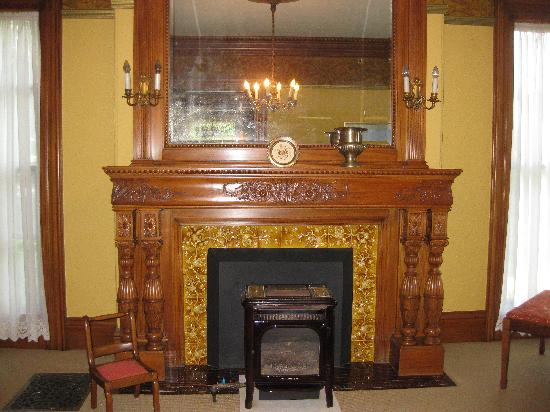 Angel of the Berwicks: Fireplace in the Living Room