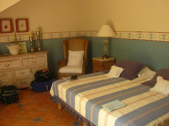 Casa Verde Inn: La camera azzurra