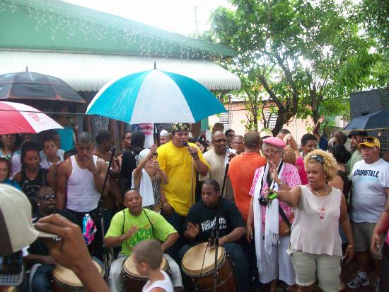 Loiza, Puerto Rico: Annual gathering at LOS HERMANOS  AYALAS HOME THIS WAS TAKEN LAST YEAR FOR THEIR 50 YEARS OF CUL