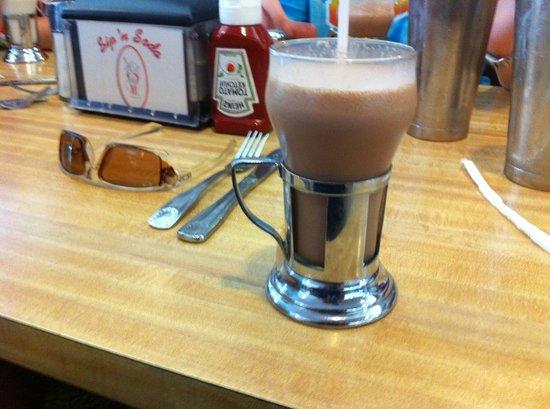 Sip 'N Soda: Chocolate Malted Milkshake