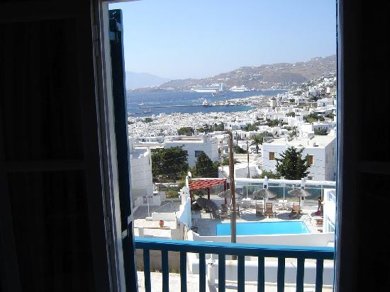 Nazos Hotel: Aegean/city view room