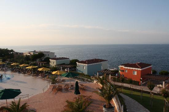 Rezidecija Skiper: Ausblick von der Restaurantterrasse