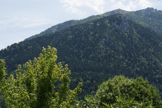 Gites Marcerou : Un autre panorama vu de la terrasse