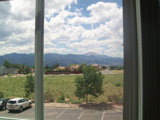 Holiday Inn Colorado Springs Airport: View from the room