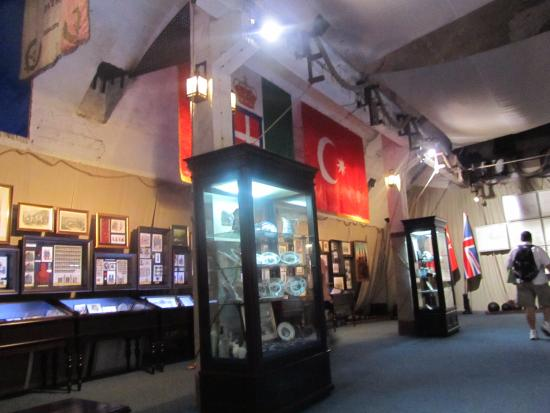 Military History Museum of Fortifications Balaklava Underground Museum Complex