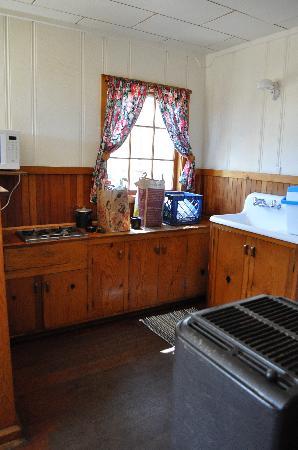 Wilson's Cottages: Kitchenette
