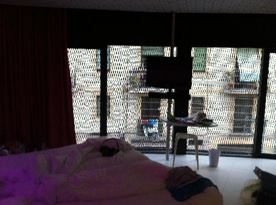 Raval : our hotel room
