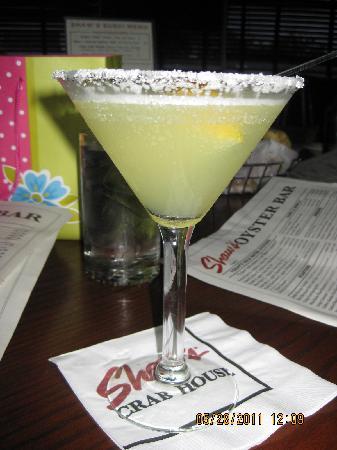 Shaw's Crab House: Martini