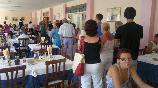 Hotel Buenos Aires: la fila x il buffet...