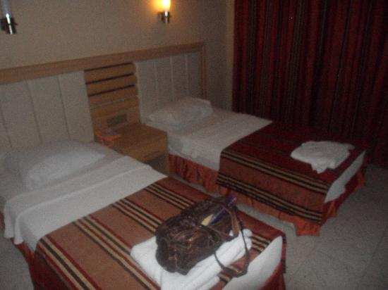 Candan Apart Hotel : the room when we arrived