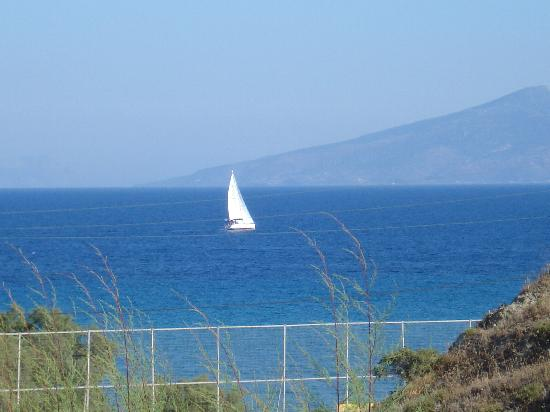 Lagas Aegean Village: View from our balcony