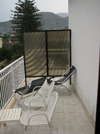 Hotel Caravel Sorrento: balcony