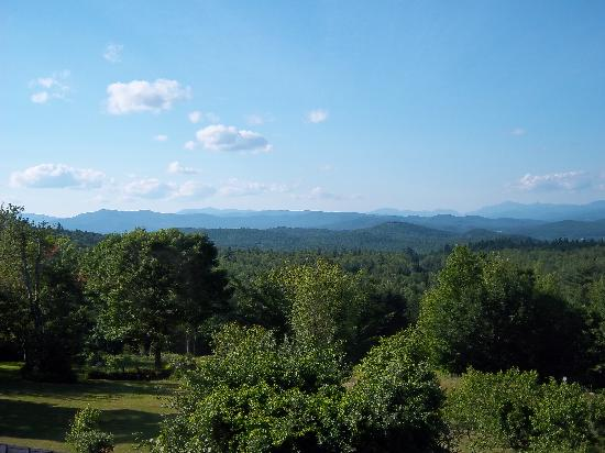 Bridgewater Mountain Bed & Breakfast: View from our room