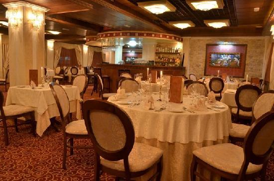 Hotel Gligorov: Il ristorante