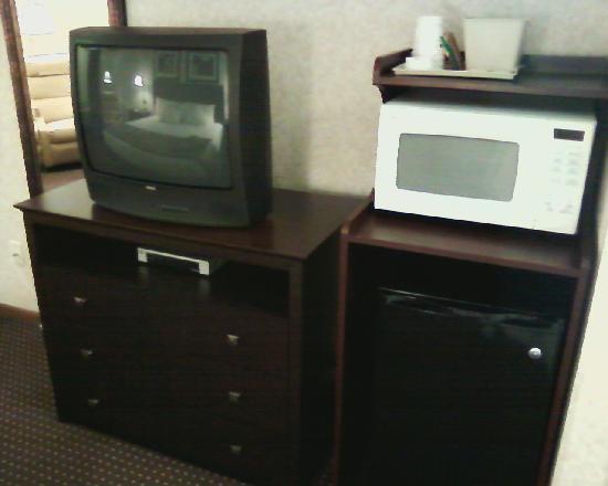 Best Western Regency Inn: TV, fridge, nuke