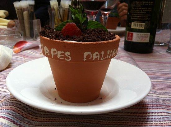 Restaurante Daluan: buen postre