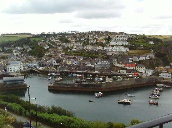 Honeycombe House: View across the harbour