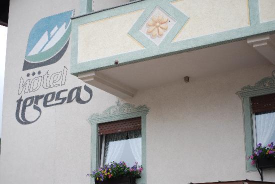 Hotel Teresa: Foto insegna hotel