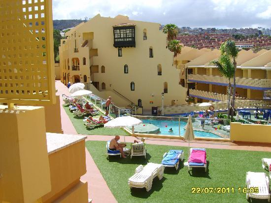 PlayaOlid Suites & Apartments: balcony