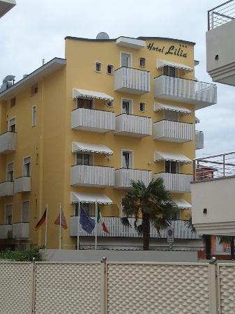 Hotel Lilia: facciata dell'hotel