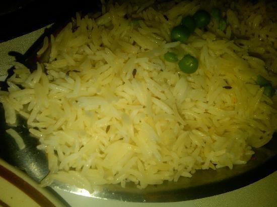 Deeya Indian Cuisine: Basmati rice